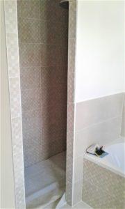 Entrée de douche