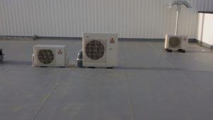 Groupe extérieur climatisation Mitsubishi