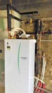 Installation de pompe à chaleur Ecodan