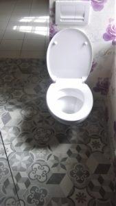 Toilette carreaux de ciment