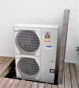 Groupe extérieur pompe à chaleur
